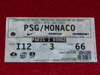 [COLLECTION SPORT FOOTBALL] TICKET PSG / MONACO 4 MAI 2003 Champ.France