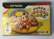N.GAGE NGAGE  SEGA MONKEY BALL  GAME BRAND NEW  NEVER OPENED FACTORY SEALED