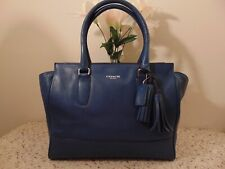 Coach 19890 Legacy Candace Carryal Turquoise Leather Shoulder Bag