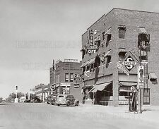 Cameron MO hotel YMCA gas station stores 1944 photo 5x7 or request 8x10 or digit