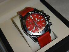 Victorinox Swiss Army - Dive Master 500 - Red - Chrono Watch - New !