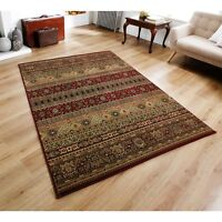 Kendra  135 R Red Multi Traditional Style Rug in various sizes and runner
