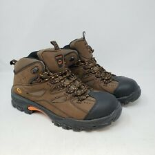 Wolverine Men's Work Boots - Hudson W02194 - Leather - Steel Toe - 9.5M