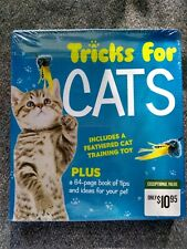 Tricks for Cats Publications International 64 Page Book Training Cat Toy New