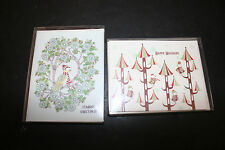 Redcap Cards Christmas Cards 2 Boxes Containing 16 Cards & Envelopes Nos