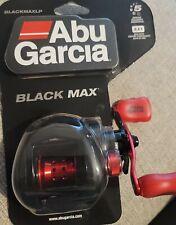 New listing Abu Garcia Black Max 6.4:1 Gear Ratio Low Profile Baitcasting Reel BLACKMAXLP
