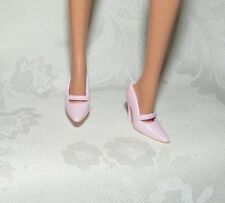 BARBIE MODEL MUSE PINK MARY JANE HIGH HEEL SHOES ACCESSORY FOR DOLL