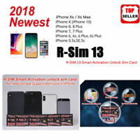 RSIM 13 2018 R-SIM SUP Nano Unlock Card For iPhone X/XR/8/7/6/6S 4G ios11 12