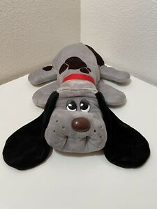 Pound Puppies Classic 80's Collection - Gray with Dark Brown Spots Black Ears