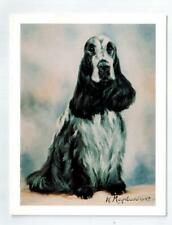 New Roan English Cocker Spaniel Pet Dog Notecard 6 Note Cards By Ruth Maystead