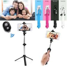 Extendable Selfie Stick Tripod Bluetooth Remote Shutter For iPhones & Samsung S7