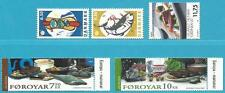 Dänemark+Färöer+Grönland aus 2005 ** postfrisch MiNr.1405-1406, 528-529, 440!