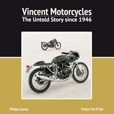 Vincent Motorcycles: The Untold Story Since 1946 by Phillipe Guyony book paper
