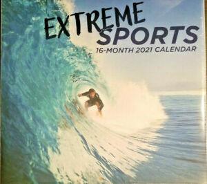 Extreme Sports 2021 Wall Calendar w