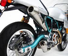 Ducati Paul Smart Sport Classic 1000 Zard Duel Full Exhaust System Titanuim Road