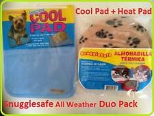 Snugglesafe Cool Pad PLUS Snugglesafe Microwave Heat Pad For Cats/Dogs/Pets