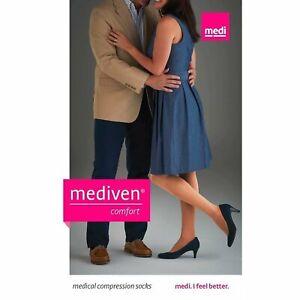 Mediven Comfort, 20-30 mmHg, Closed Toe Compression Pantyhose, Natural, Size IV