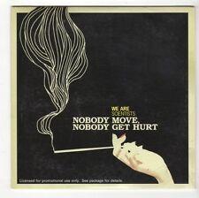 (GL345) We Are Scientists, Nobody Move Nobody Get Hurt - 2005 DJ CD