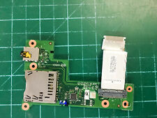 """New listing Lenovo ThinkPad T470s 14"""" Laptop Audio Jack Card Reader Board w/ Cable Ns-B081"""