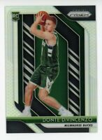 2018-19 Panini Prizm DONTE DIVINCENZO Rookie Card RC SILVER REFRACTOR #246 Bucks