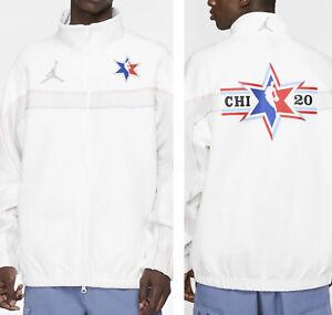 Nike Jordan NBA All Star Chicago Game Jacket Shooting 2020 Team Issued 2XL TALL