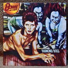 David Bowie Diamond Dogs Vinyl Record LP 1974