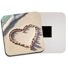 Love Heart Fridge Magnet - Beach Sand Wife Girlfriend Cute Seaside Gift #8717