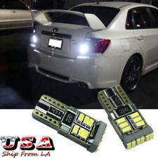 2x 6000K LED 921 T15 Backup Reverse Light Bulb For Subaru WRX STI Legacy Outback