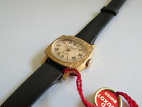 Solid Gold 18K 750 Watch Vintage Duxot NOS Lady unused Swiss Made Rare