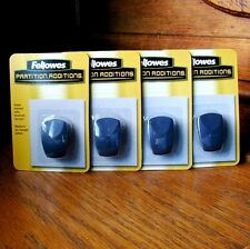 NEW SEALED FELLOWES PARTITION ADDITIONS CUBICLE CLIP SINGLES 4-PACK 75270