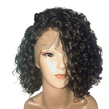 Women Curly Front Lace Short Hair Wig Charming Wigs Party Cosplay Hairpiece Eage