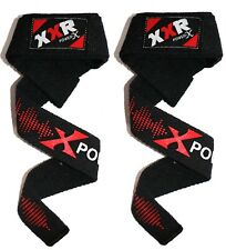 XXR Gel Padded Weight Lifting Training Gym Straps Hand Bar Wrist Support Gloves