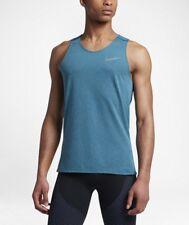 Nike New Mens Breathe Dri Fit Running Tank Shirt 833130 2Xlarge 2Xl $45