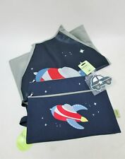NEW Bobble Art Space Pack -Kids Art Smock, Pencil Case, Car Luggage Tag RRP $55