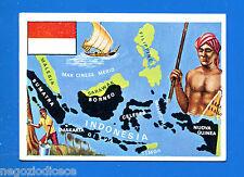 LA TERRA - Panini 1966 - Figurina-Sticker n. 224 - INDONESIA -New