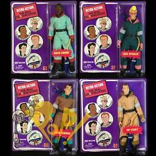 The REAL GHOSTBUSTERS Retro Action Figure SET of 4 SPENGLER Stantz VENKMAN Zed!