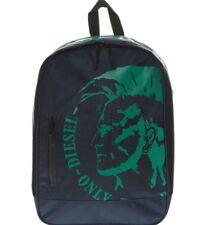 Diesel Navy Logo School Backpack
