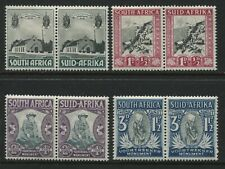 South Africa 1933-36 Semi-postal set in pairs mint o.g. hinged