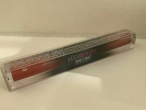 HUDA BEAUTY MATTE & METAL Liquid Eyeshadow HOT SAUCE & CHERRY SODA : NEW