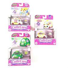 Shopkins Cutie Cars Lot Popcorn Moviegoer Jelly Joyride Egg Cart