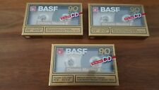 BASF Kassetten neu new originalverpackt sealed Chrome Maxima II