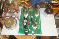 Valve amplifier chassis, about 10 watts.