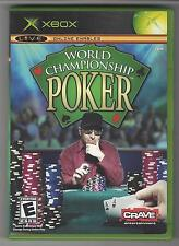 World Championship POKER Xbox Live Online Enabled Rated E (CD + Booklet) Crave