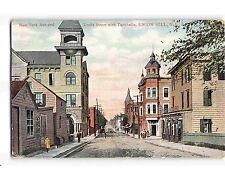 ST1188: STREET VIEW UNION HILL NJ (postcard 1911 postmark)