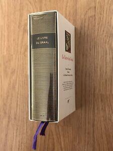 Le livre du graal - tome 1 - pléiade - édition originale 2001 - état neuf