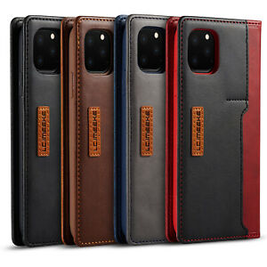 Case For iPhone 13 Pro Max 12 Mini 11 7 Xr Leather Flip Wallet Card Stand Cover