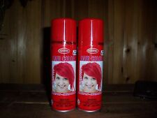 GOODMARK TEMPORARY HAIR COLOR SPRAY BRIGHT RED CHEERLEADER BEAUTY PAGEANT  PROM