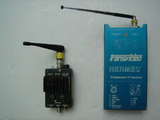 VIDEO TRANSMITTER MODULUS 3000 + RECEIVER TRANSVIDEO HERMES