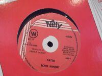 ECHO MINOTT FATTIE / FAT MILLIE ON WITTY  RECORDS