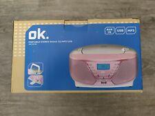ORC 311-PK RADIO RECORDER CD MP3 NEU-OVP